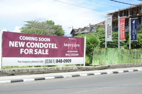 Kondotel Bali, Andalkan Pelancong Deomestik